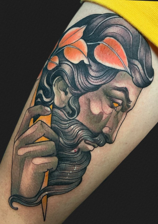 We all know this great character, from the Greek mythology, and it has also appeared many times in different representations on different tattoos.